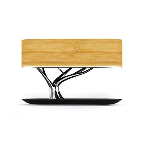 LILIS Lampara de Noche Lámparas de Mesa Lámpara Decorativa de la lámpara de cabecera luz de la Noche de luz LED Multifuncional Creativo del diseño del árbol de Carga inalámbrica Smart Home