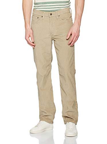 Levi's 514 Jeans Straight, True Chino 14W Cord WT, 36W / 32L Uomo