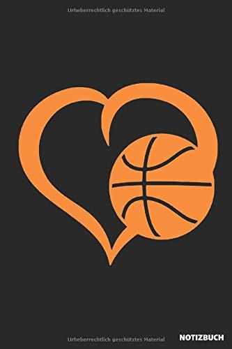 Notizbuch: Basketball Liebe (liniert)