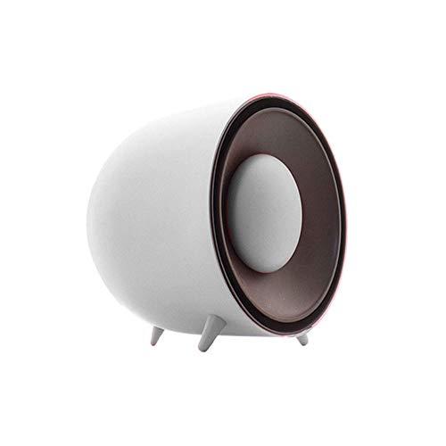 RUIMA Mini Heater -Aluminum Blatt Wärme ableitenden Geschwindigkeit Wärme Heater Start Schlafzimmer Tragbare Überhitzungsschutz Gürtel Abnehmbare Handwärmer (Color : White)