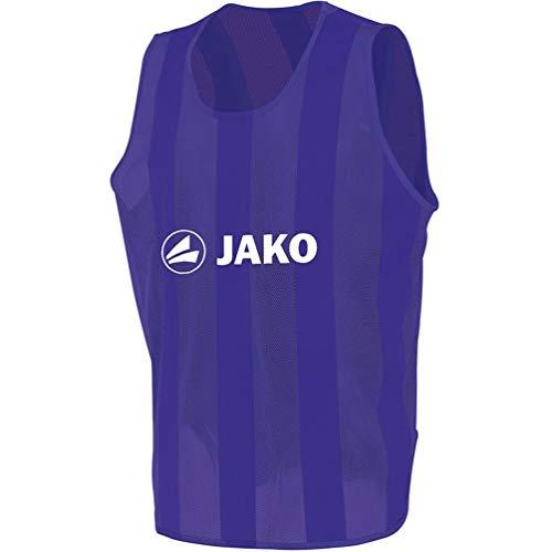 JAKO Camisa de etiquetado clásica Unisex, Unisex Adulto, 2612/10/02, Morado, Large