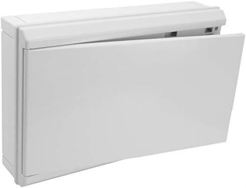 Solera 5220CB - Conjunto caja, tapa, marco y puerta blanco para caja...