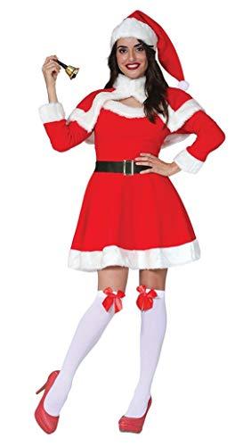 GUIRMA Costume Babba Mamma Natale Economico Babbo Donna