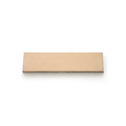 """Cowhide Leather Strop 4"""" x 1"""" with Aluminum Mounting for KME"""