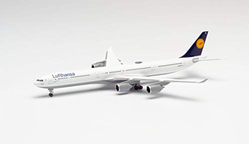 Herpa 507417-003 Lufthansa Flugzeug Originalgetreues Modell für erwachsende Sammler. Kein Spielzeug, Mehrfarbig