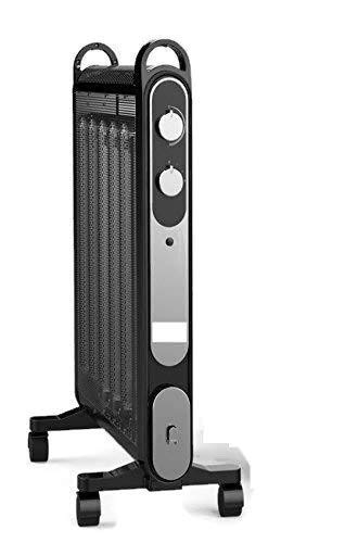 Aironic (TM Black 2000W Electric Mica Convector Panel Heater
