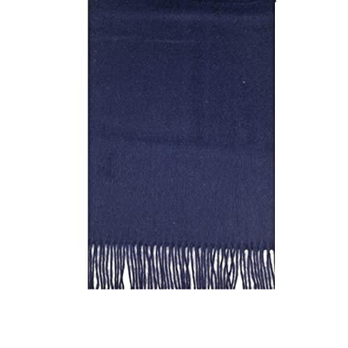 ShSnnwrl Wrap for Women Neatly Stitched Bufanda de Invierno 100% para Hombres, Mujeres, chales de Moda para Hombre, Bufandas sólidas de Alta Cal