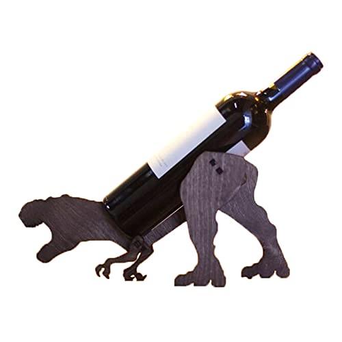 Vino de madera titular decorativo vino tinto estante decoración del hogar para la decoración de la barra y la cocina