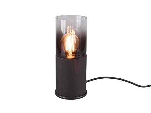 Meerpits LED rookglas hanglampen voor boven de eettafel, tafellamp cilindervorm smal