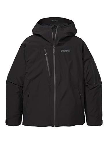 Marmot Herren Hardshell Ski- Und Snowboard Jacke, Winddicht, Wasserdicht, Atmungsaktiv Lightray, Black, L, 74180