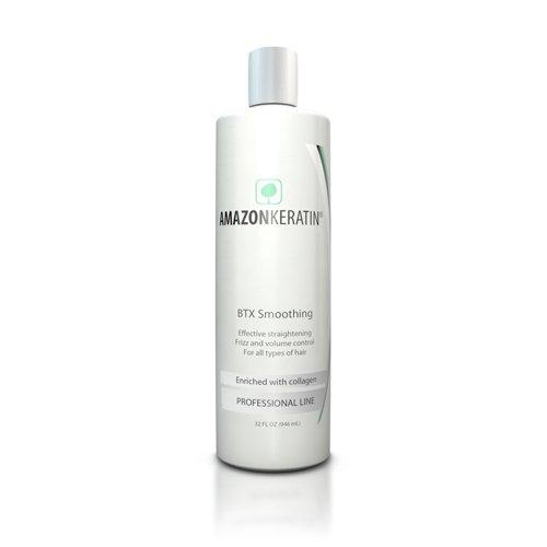 Amazon Keratin, Producto alisador de pelo - 243 ml.