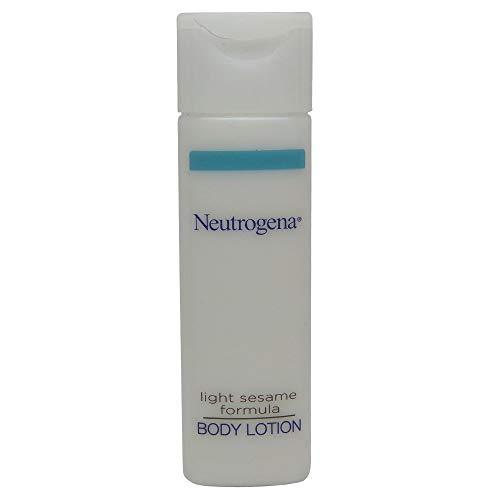 Neutrogena Body Lotion 0.8 oz travel size bottles -Lot of 24 each - Total of 19.2 oz