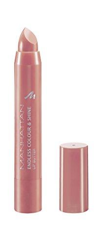Manhattan Endless Colour & Shine Lip Butter, Lippenstift mit langanhaltendem Farbglanz in Rosé,...