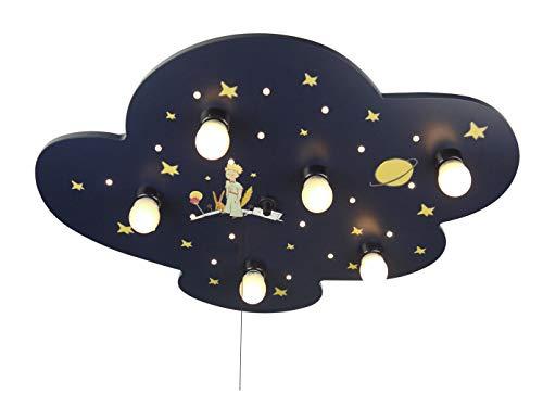 LED infantil plafón XXL, diseño de El Principito, Amazon Echo compatible, interruptor...