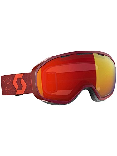 Scott Fix Brille, Dark Enhancer Red Chrome, One Size