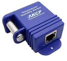 AKCP Sensor Temperatur & Luftfeuchtigkeit, per CAT5e Kabel bis zu 300 Meter absetzbar