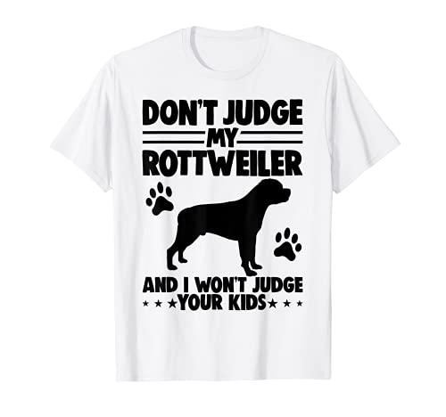 Best Dog Mom Rottweiler T-Shirt Dog Tee Pet Love Women T-Shirt
