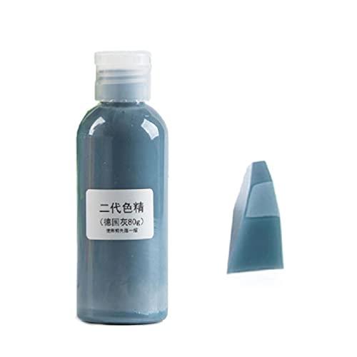 Botella grande 80g resina pigmento kit transparente resina epoxi colorante colorante colorante colorante colorante resistencia a la decoloración pigmento suministros de resina