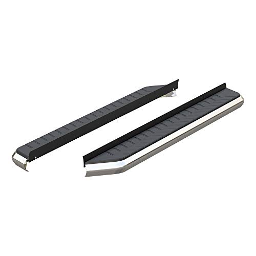 ARIES 2051867 AeroTread 67-Inch Polished Stainless Steel SUV Running Boards, Brackets Sold Separately