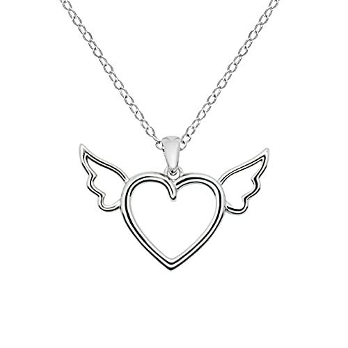 ILORÉ Damen Halskette aus 925 Sterling Silver Silber - Verstellbares Halskettchen - Nickelfrei und rhodiniert (45.00)