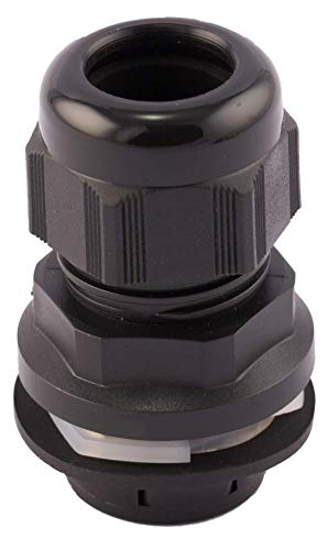 4 Pcs 3-6.5mm Cables PG7 Waterproof White Plastic Glands Connectors uxcell a11081600ux0059