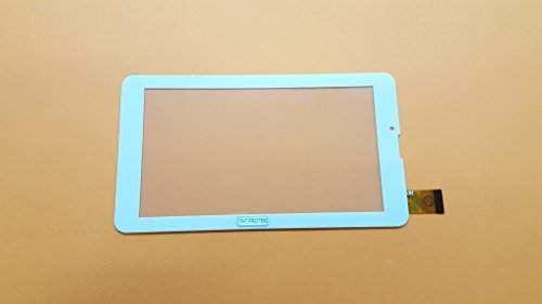 Weiss Touchscreen Digitizer glas version 1 komp. Mit Archos 70b Copper