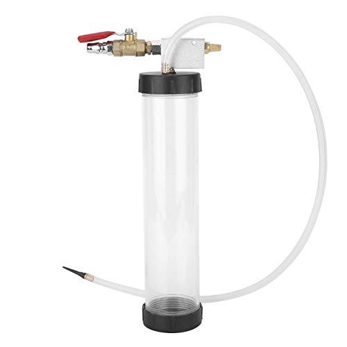 Zaraddia Juego de Herramienta de Cambio de Aceite, máquina de reemplazo de Aceite de Freno neumático, Herramienta de Bombeo de Vaciado de líquido, Mantenimiento de vehículos 1L