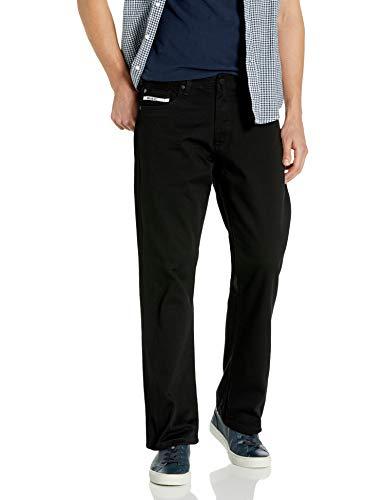 Ecko Unltd. Herren Men's Relaxed Straight Jeans, Farbe: Olivgrün, 48