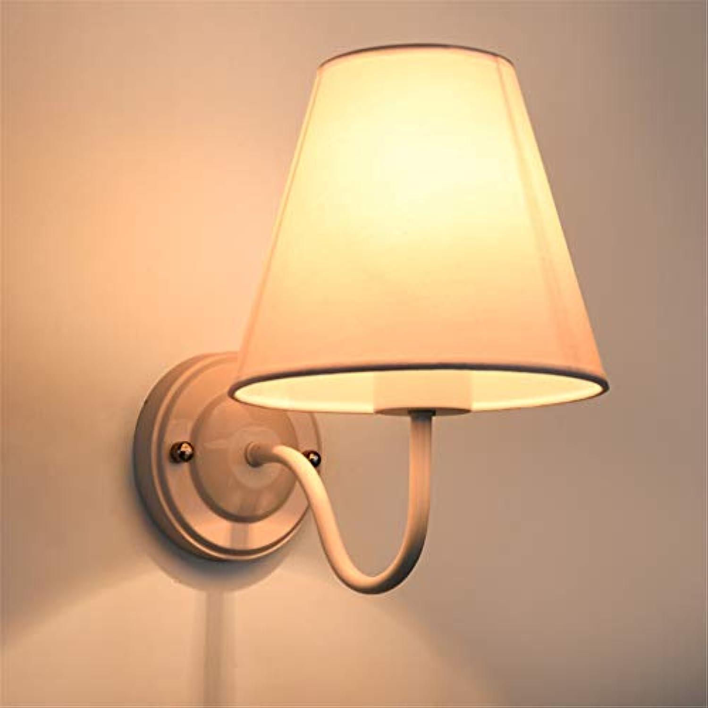 Road&Cool Wandbeleuchtung Wandleuchten Innen- Bett Nacht- Erleuchtung Moderne Europische Wohnzimmer Gang Dekoration Lampe (23 × 25 × 16 cm)