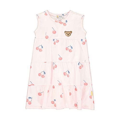 Steiff Mädchen Kleid, Rosa (Barely Pink 2560), 98 (Herstellergröße: 098)