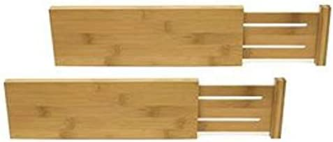 Lipper International 8895 Bamboo Dresser Drawer Dividers, Set of