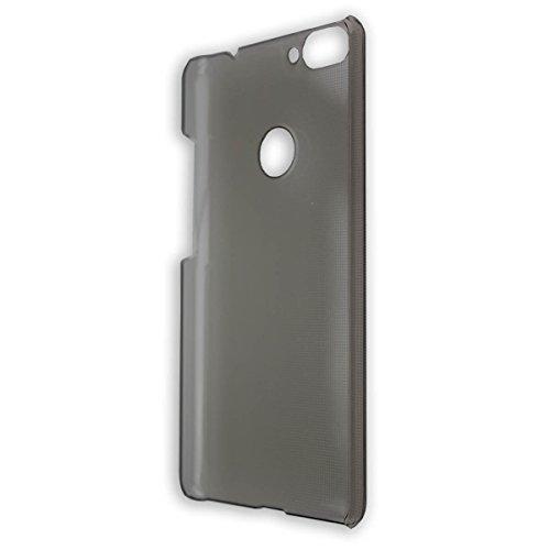 caseroxx Backcover für Bluboo Dual, Tasche (Backcover in schwarz-transparent)