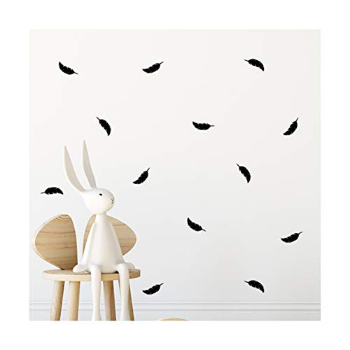 StickerDeen | Decoración estilo bohemio con forma de pájaros de plumas extraíble...