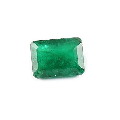 4.5 carat Emerald cut 11.8 x 8.6 x 5.4 mm Natural Zambian Green Emerald Loose Gemstone For Jewelry Making | Ring Size Gemstone | Healing Birthstone|Astrological Gemstone