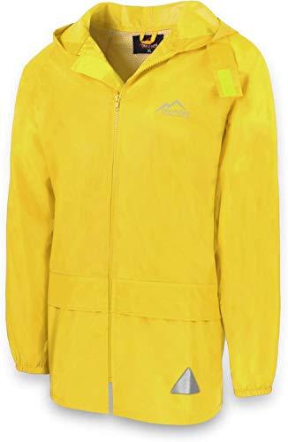 normani Leichte Windjacke/Regenjacke im Beutel, Unisex - Erwachsene Farbe Gelb Größe XL