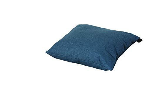 Gärtner Pötschke Stuhlauflage Oxford, 45 cm x 45 cm, blau