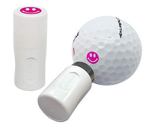 Asbri - Stampatore per palline da golf, colore: Rosa sorridente.
