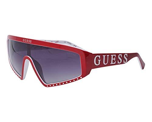 Guess gafas de sol GU7695 66B gafas de Mujer de color Rojo de la lente tamaño del humo