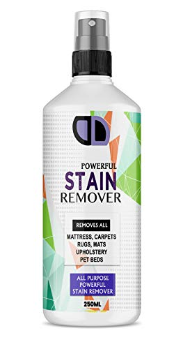 Fabric Spot Mattress Stain Remover Urine Vomit Pet Faeces Bed Wee Cleaner 250ml Spray