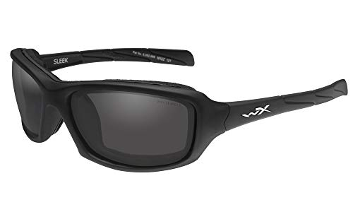 Wiley X Sleek Matte Black Frame with Grey Lenses