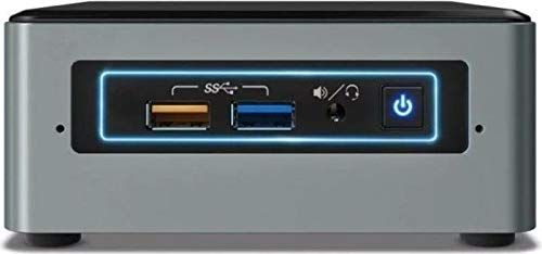 Intel Nuc Mini Komplett PC, Intel Quad Core 4 x 2,30 GHz, 8 GB RAM, 512 GB SSD, USB 3.0, HDMI, VGA,...