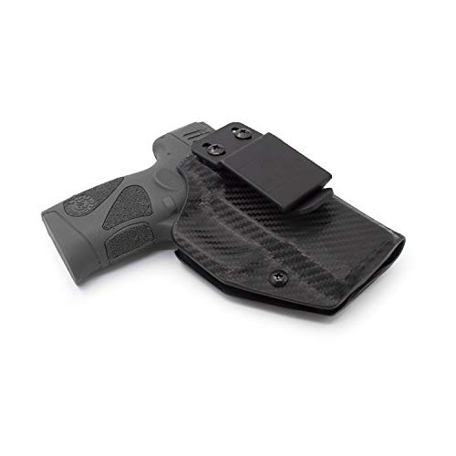 Relentless Tactical Stealth Mode IWB KYDEX Holster | Fits: Taurus PT111/PT140 | Made in USA | Custom Molded Holster for PT111/PT140