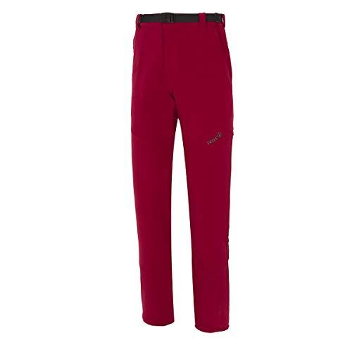 IZAS Kerch Pantalon de Trekking Homme Rouge Minéral/Fumée FR: M (Taille Fabricant: M)