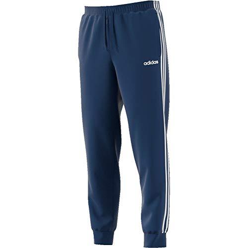 adidas E 3S T Pnt FL, Pantaloni Sportivi Uomo, Tech Indigo/White, S