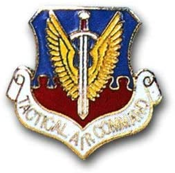 New product! New type US Air Force Tactical Command Lapel Popular Pin
