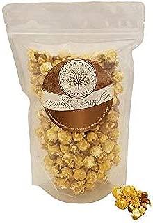Gourmet Caramel Pecan Popcorn with Praline Pecans, 12 oz resealable bag | Millican Pecan since 1888 | San Saba, Texas