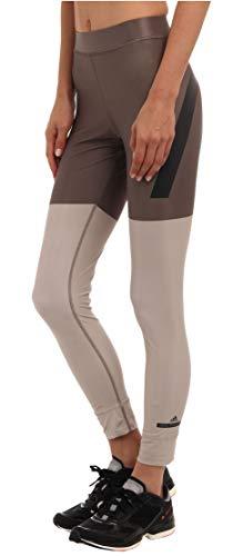 adidas by Stella McCartney Essentials studio tight (L, Brown/Beige (M61153))