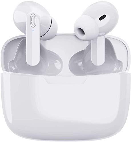 Auriculares Bluetooth inalámbricos 3D con cancelación de ruido estéreo HD Touch Control In-ear IPX6 impermeable auriculares deportivos para iPhone/Airpods Pro/Android/Apple