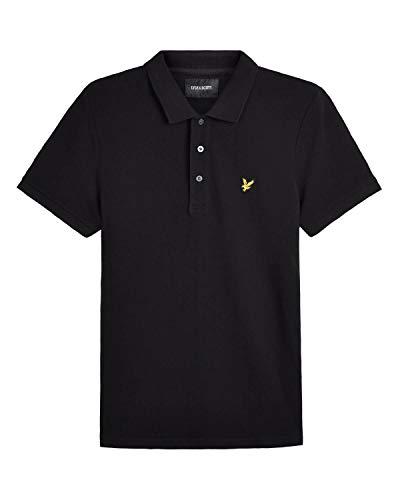 Lyle and Scott Polo Shirt Herren schwarz, XL