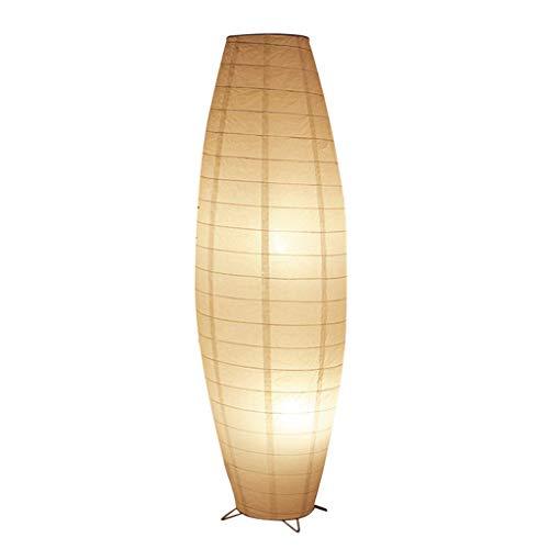 DFJU Lámparas de pie y antorchas Lámpara de pie nórdica: Adecuada para Sala de Estar, Dormitorio, mesita de Noche, Estudio, lámpara de pie, Moderna lámpara de pie de Papel Creativa